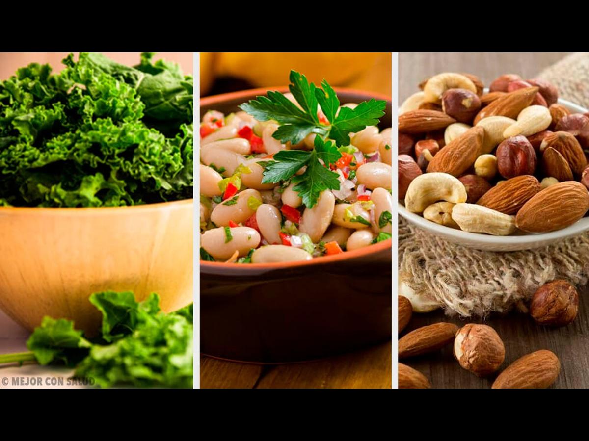 fuente de calcio en vegetales